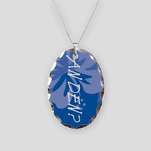 An Den? Necklace Oval Charm