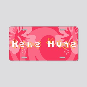 Kaha Huna Aluminum License Plate