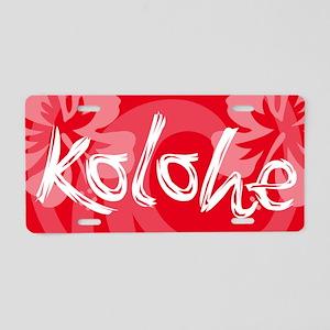 Kolohe Aluminum License Plate