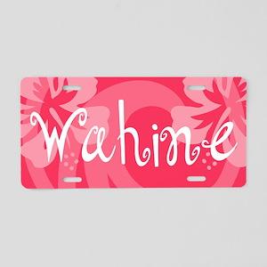 Wahine Aluminum License Plate