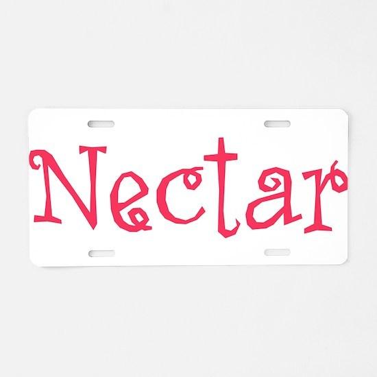 Nectar Aluminum License Plate