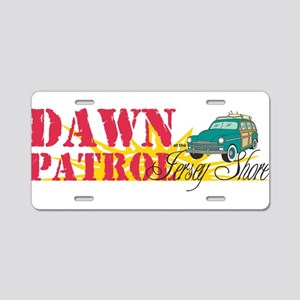 Dawn Patrol at the Jersey Sho Aluminum License Pla