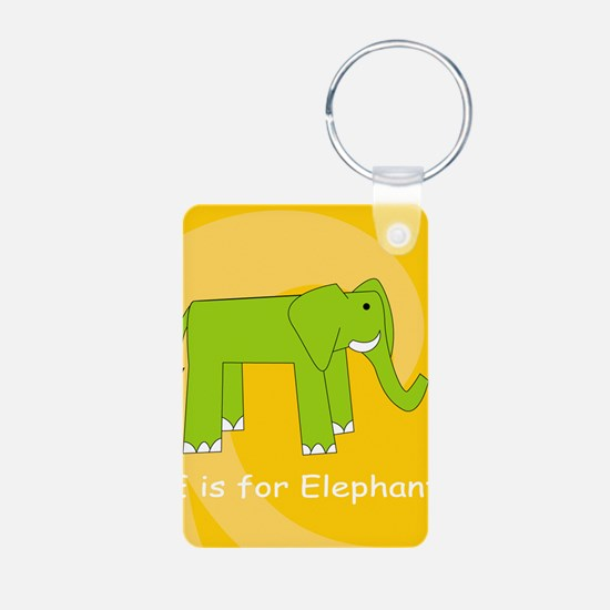 E is for Elephant Keychains