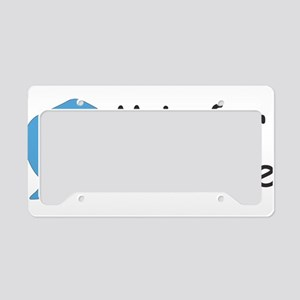 M is for Manatee License Plate Holder