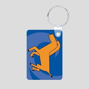 Horse Aluminum Photo Keychain