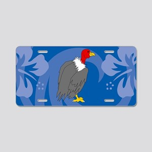 Vulture Aluminum License Plate