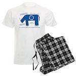 Rhino Facts Men's Light Pajamas
