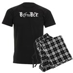 Bomber Men's Dark Pajamas
