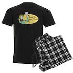 Shank You Very Much! Men's Dark Pajamas