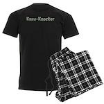 Knee-Knocker Men's Dark Pajamas