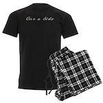 One a Side Men's Dark Pajamas