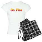 On Fire Women's Light Pajamas