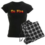 On Fire Women's Dark Pajamas