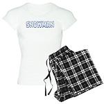Snowman Women's Light Pajamas