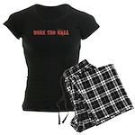 Work the Ball Women's Dark Pajamas