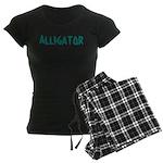 Alligator Women's Dark Pajamas