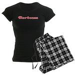 Barbecue Women's Dark Pajamas