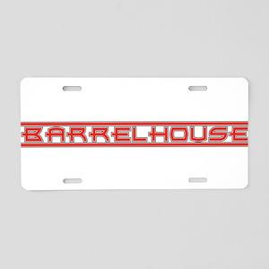 Barrelhouse Aluminum License Plate