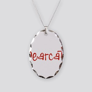 Bearcat Necklace Oval Charm
