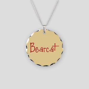 Bearcat Necklace Circle Charm