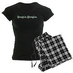 Boogie Woogie Women's Dark Pajamas