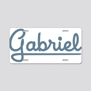 Gabriel Aluminum License Plate