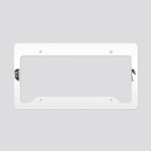 Oil Merchant License Plate Holder