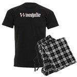 Woodpile Men's Dark Pajamas