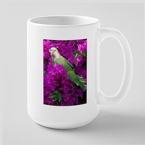 Quaker Parrot Large Mug