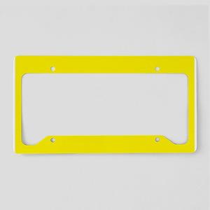 Slow Driver License Plate Holder