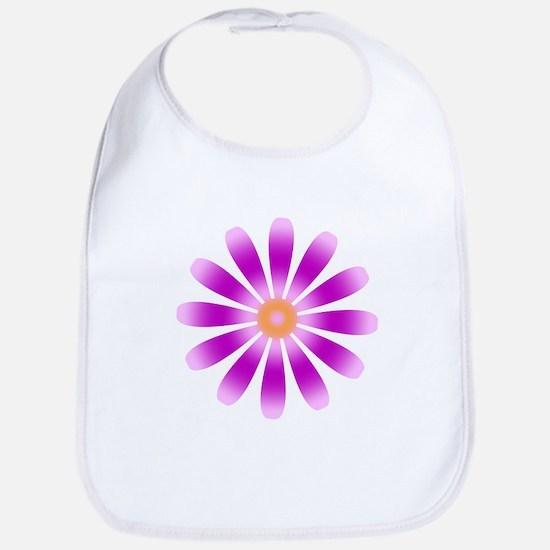 Purple Flower Bib