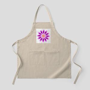 Purple Flower BBQ Apron