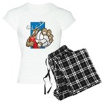 Bucks County Volleyball Women's Light Pajamas