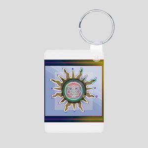 Recovery SUN Aluminum Photo Keychain