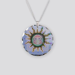 Recovery SUN Necklace Circle Charm
