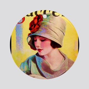 Art Deco Best Seller Ornament (Round)