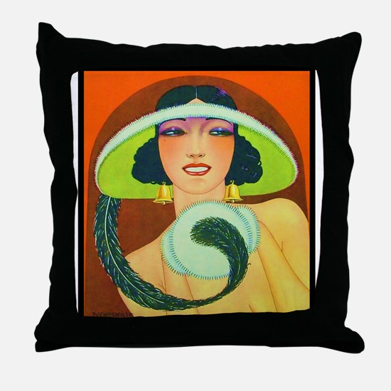 Art Deco Best Seller Throw Pillow