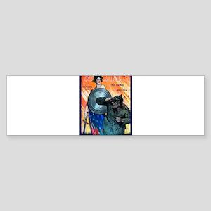 Art Deco Best Seller Sticker (Bumper)
