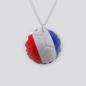 France World Cup Ball Necklace Circle Charm