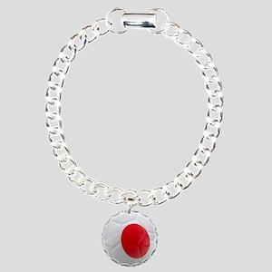 Japan World Cup Ball Charm Bracelet, One Charm