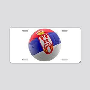 Serbia World Cup Ball Aluminum License Plate