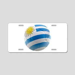 Uruguay World Cup Ball Aluminum License Plate