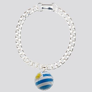 Uruguay World Cup Ball Charm Bracelet, One Charm