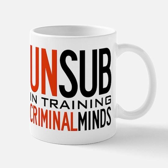 Unsub in Training Criminal Minds Mug