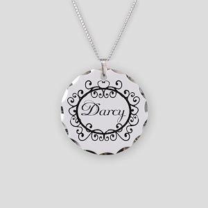 Darcy Jane Austen Fan Necklace Circle Charm
