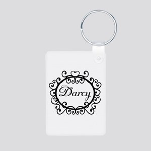 Darcy Jane Austen Fan Aluminum Photo Keychain