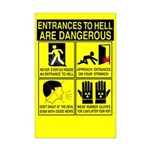 entrances2hell Mini Safety Poster (11x 17)