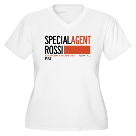 Special Agent Rossi Criminal Minds Women's Plus Si