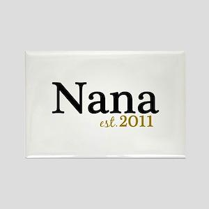 New Nana Est 2011 Rectangle Magnet