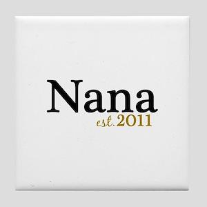 New Nana Est 2011 Tile Coaster